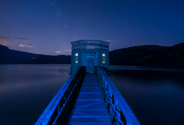 Brecon Beacons reservoir